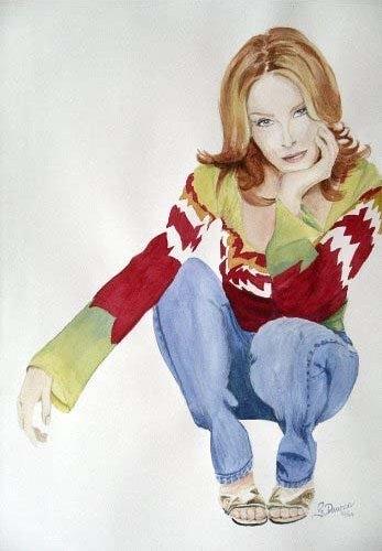 Kylie Minogue by chromescarab